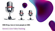 OBS.Ninja, the easiest method of broadcasting with more than one person on screen. – Live Video Training