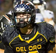 6'3, 200 Ray Thomas (Del Oro) SJS