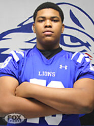 Orlando Brown | Offensive Tackle | Peachtree Ridge | 6-8 | 338