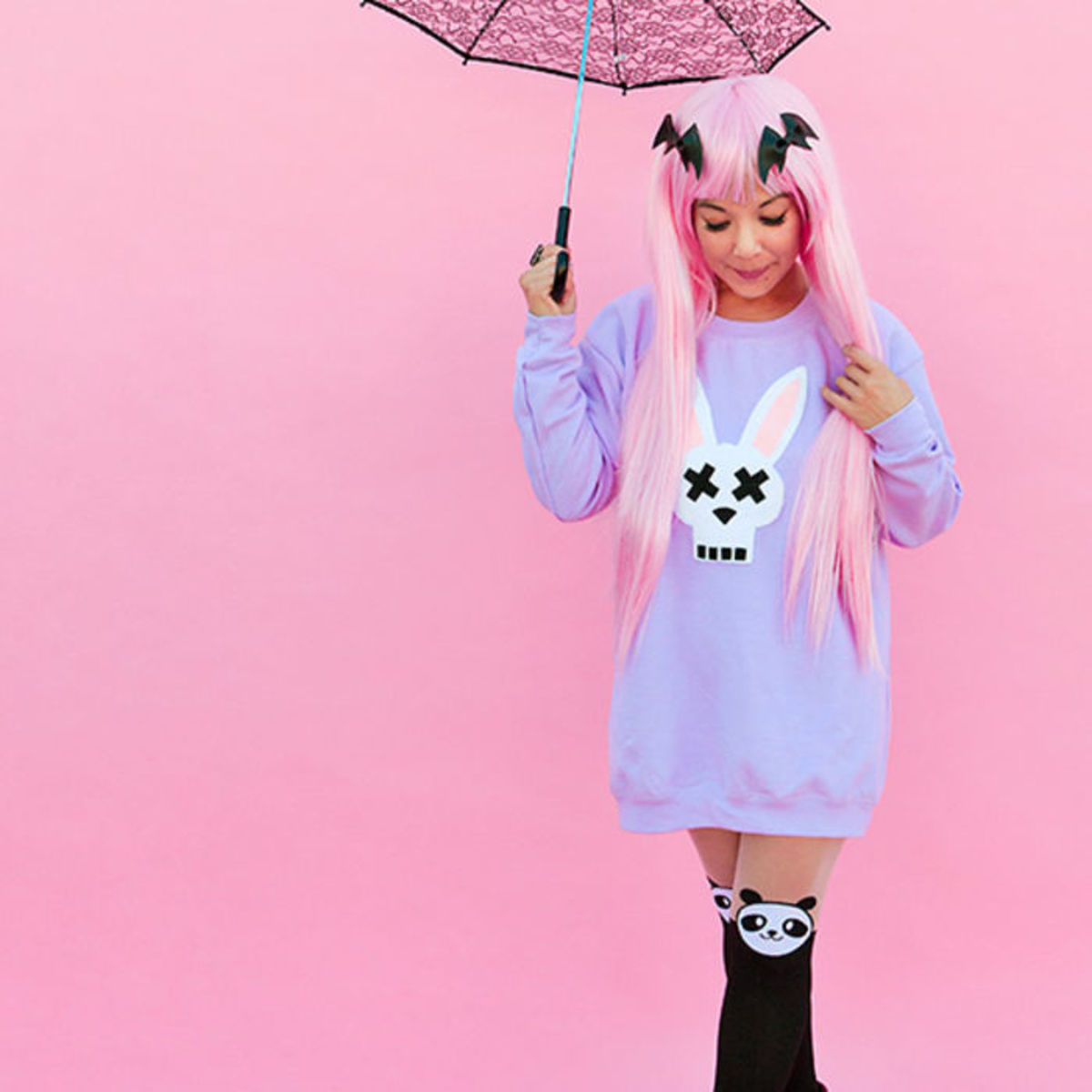 Headline for Pastel Goth: 10 DIY Ways to Get the Look.