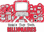 Infographic: 2016's Top Tech Billionaires - Techtiplib.com