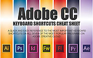 The 13 Must-Have Adobe CC Keyboard Shortcut Cheat Sheets, Free!