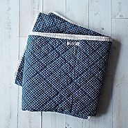 Quilted Picnic Throw Blanket