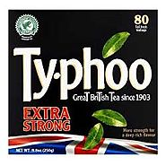 Typhoo Extra Strong Black Tea Bags