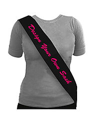 Design you own Sash