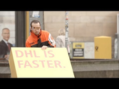 DHL is faster