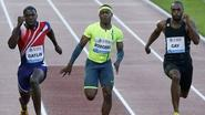 Gatlin beats returning Gay in 100m