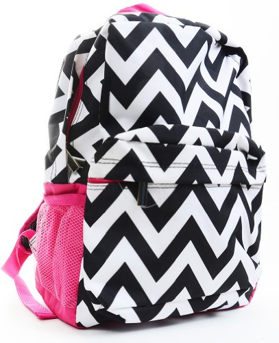 Chevron Print Backpacks for Girls | Best colors of Aqua, Pink, Purple and more