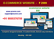 Get Fully Functional Ecommerce Website 50 Www Arunnn Com - Computer & Webdesign Services In Hyderabad & Secunderabad ...