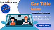Car Title Loans Nova Scotia Can Handle Financial Stress