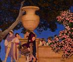 Murals by Maxfield Parrish