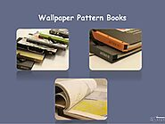 Print Cover Wallpaper Book - Handcrafted Wallpaper - Library Wallpaper UK