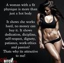 A Woman with a Fit Physique ...