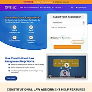 Constitutional Law Assignment Help | A+ Grade at best price