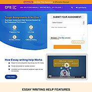 Essay Writing Help: Best Essay Writing Help from Expert Writers