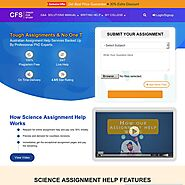 Science Assignment Help Online by P.hd expert writer