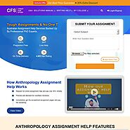 Get Anthropology Assignment Help from Online experts