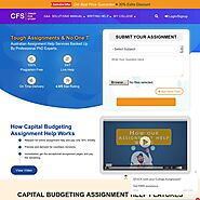Get Capital Budgeting Assignment Help Online by Expert writers