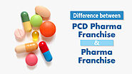 What is the difference between PCD Pharma Franchise and Pharma Franchise?