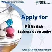 Pharma Business Opportunity - Pharma Company Ambala