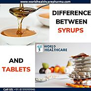 What is the difference between Syrup and tablets?