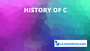 History Of C Language [ Brief Expanation ] - LearnProgramo