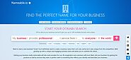 Business Website Domain Name Generator - Nameable