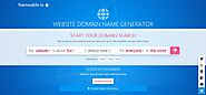 Website Domain Name Generator – Nameable