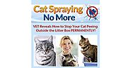 Cat Spraying No More - The Easy Cat Potty Training by Sarah Richards