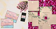 Enter In The World Of Bespoke Wedding Stationery And Invitations By Ang By Aangi Shah