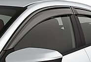 Car Door Visor for Maruti Suzuki Alto 800 / Car Rain Visor/ Car Wind Visor/ Car Door Visor/ Side Window Deflector (Se...