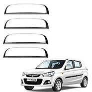AUTO ATTIRE Premium Quality Alto K10 New Chrome Plated Handle Cover / Catch Cover
