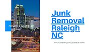 Junk Removal Services in Raleigh NC