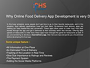 Online food delivery app development company