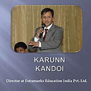 Karun Kandoi - Director of Extramarks Education India Pvt. Ltd. | Visual.ly