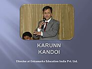 Karun Kandoi - Director of Extramarks Education India Pvt. Ltd.
