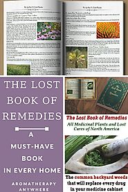 The Lost Book of Remedies - Review - Aromatherapy Anywhere