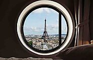 Top 18 Hotels With A View Of The Eiffel Tower In Paris | ItsAllBee Travel Blog