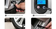 Electric air pump:Wireless Inflation Method-tire inflator 2020 12v tire inflator