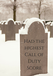Best Call Of Duty Score Tombstone