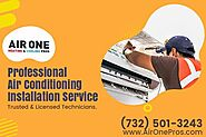 Best Air Conditioning Installation in NJ