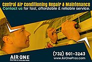 Best Central Air Conditioning Repair Service at Low Cost