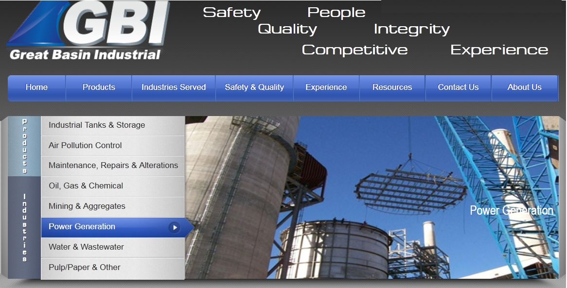 Headline for Industrial Storage Tanks | Great Basin Industrial (GBI)