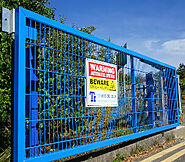 Swing Gate Leeds | Business Swing Gates | TI Security