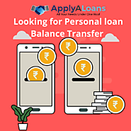 Personal Loan Balance Transfer in Hyderabad
