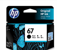 HP No 67 (3YM56AA) Black Ink Cartridge