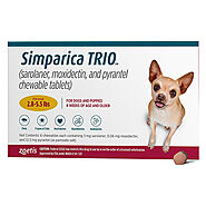 Simparica TRIO for Dog Supplies: Buy Simparica TRIO for Dog Supplies at lowest Price - CanadaVetExpress.com