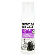 Buy Frontline Pet Care Leave In Foam for Dogs & Cats Online at CanadaVetExpress.com
