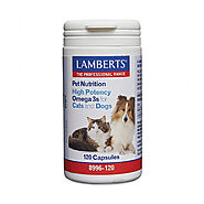 Lamberts High Potency Omega 3s for Dogs at Lowest Price - CanadaVetExpress.com