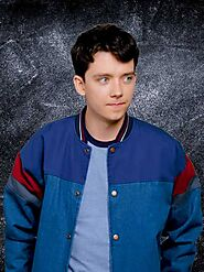 Asa Butterfield Sex Education Bomber Jacket - Just American Jackets